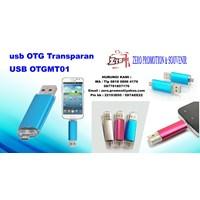 Flashdisk Otg Transparan Usb Otgmt01 Souvenir