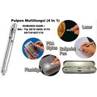 Jual Pen Laser 4 In 1 Pulpen Multifungsi 4 In 1 Pulpen Dan Pensil