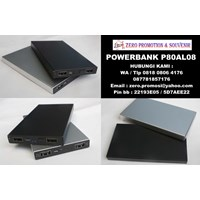 Souvenir Powerbank Metal 8.000mAh P80AL08