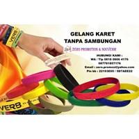 Gelang Karet Promosi Rubber Wrist Band Gelang Tanpa Sambungan