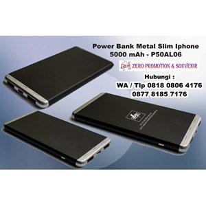 Dari Power Bank Metal Slim Iphone 5000 Mah P50al06 0