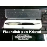 Pen crystal usb flash disk stylus 3 in 1