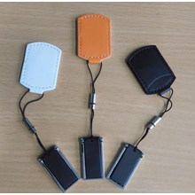 Usb Flash Disk Leather Pouch Fdlt28 8 Gb
