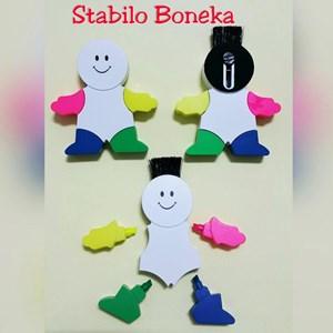 Stabilo Boneka Promosi Souvenir Stabilo Orang