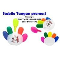 Stabilo Tangan promosi Souvenir stabilo bentuk tangan