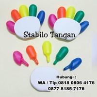 Jual Stabilo Tangan Promosi Souvenir Stabilo Bentuk Tangan  2