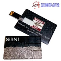 Usb Flashdisk Kartu Flash Disk Card Barang Promosi  1