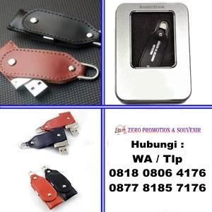 Usb Flash Disk Kulit Promosi Model Swivel Fdlt23