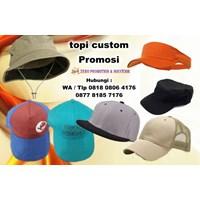 Distributor Topi Promosi Dengan Bordir Atau Sablon Logo Di Tangerang 3