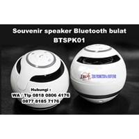 Jual Souvenir Speaker Bluetooth Bulat Btspk01 Radio Mp Player Headset 2
