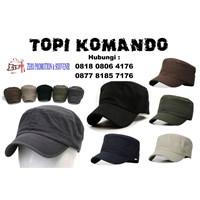 topi promosi komando commando hats model topi kotak