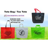 Distributor Konveksi Tas Promosi Vendor Tote Bag Spunbond Tangerang  3