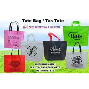 Konveksi Tas Promosi Vendor Tote Bag Spunbond Tangerang