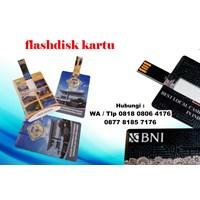 Jual Usb Flash Disk Bentuk Kartu Flashdisk Kartu Cetak Custom  2