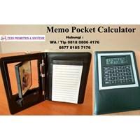 Barang Promosi Perusahaan Memo Pocket Calculator