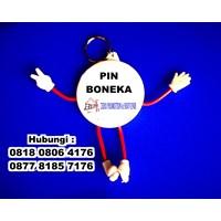 Jual Barang Promosi Perusahaan Gantungan Kunci Pin Boneka 2