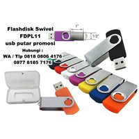 Jual Usb Flash Disk Swivel Fdpl11 Usb Putar Promosi  2