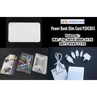 Jual  Aksesoris Handphone Powerbank Promosi 2000 Mah P20cd03  2