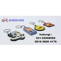 Jual Barang Promosi Perusahaan Gantungan Kunci Karet Custom 2