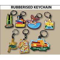 Distributor Barang Promosi Perusahaan Gantungan Kunci Karet Custom 3