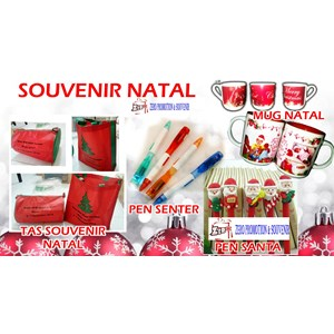 Barang Promosi Perusahaan Merchandise Acara Natal 2016