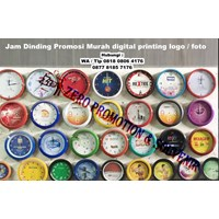 Jam Promosi Murah digital printing logo  foto