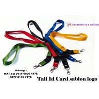 Barang Promosi Perusahaan Tali Id Card sablon logo