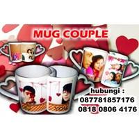 Jual Hadiah Romantis Mug Couple Gelas Promosi 2