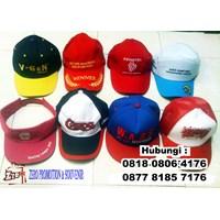 Jual Topi Promosi Murah Dengan Bordir Atau Sablon Logo 2