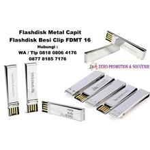 USB Flash Disk Metal Capit Flashdisk Besi Clip FD