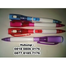 Barang Promosi Perusahaan Senter pen pulpen sente