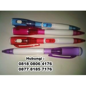 Barang Promosi Perusahaan Senter Pen Pulpen Senter Led