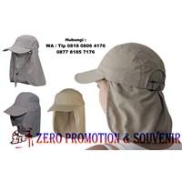 Produksi topi promosi mancing  topi jepang promosi