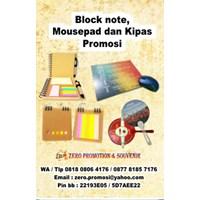 Agenda Promosi Block Note Mousepad Dan Kipas Promosi