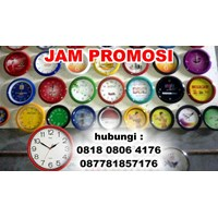 Jam Promosi Dinding Jam Meja Promosi Murah Digital Print Logo