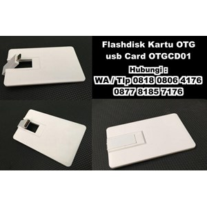 Usb Flash Disk Kartu Otg Usb Card Otgcd01