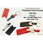 Usb Flash Disk Kunci Bahan Metal Dengan Sarung Kulit Fdlt26  2