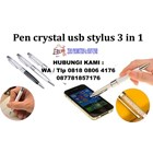 Usb Flash Disk Pen Crystal Usb Stylus 3 In 1  2