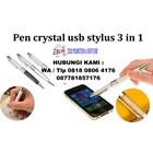 Usb Flash Disk Pen Crystal Usb Stylus 3 In 1  3