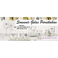 Gelas Promosi Jasa Pembuatan Souvenir Gelas Kaca