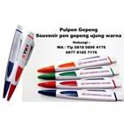 Pulpen Dan Pensil Pulpen Gepeng Souvenir Pen Gepeng Ujung Warna  2
