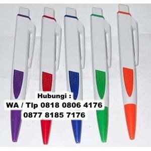 Pulpen Dan Pensil Pulpen Gepeng Souvenir Pen Gepeng Ujung Warna