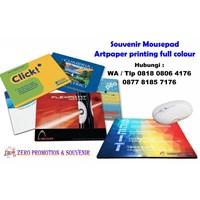 Souvenir Mousepad Artpaper Barang Promosi Perusaha