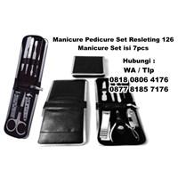 Barang Promosi Perusahaan Manicure Pedicure Set Resleting 126