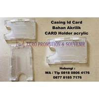 Casing Id Card Bahan Akrilik Card Holder Acrylic K