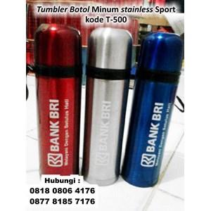 Barang Promosi Perusahaan Tumbler Botol Minum Stainless Sport T500