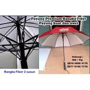 Payung Premium Rangka Fiber Payung Promosi Kuat Dan Awet