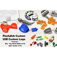 Usb Flash Disk Custom Paling Murah Usb Custom Logo 1
