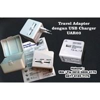 Travel Adapter Dengan Usb Charger Uar03  Barang Promosi Perusahaan 1