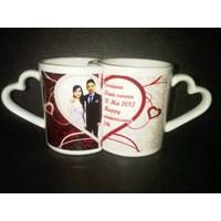 Jual Mug Couple  Gelas Promosi 2